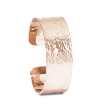 Nina Nguyen Designs Hammer Sml 20mm Vermeil Rose Cuff