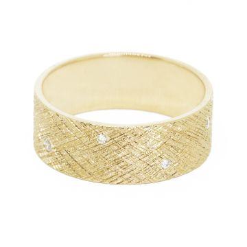 Nina Nguyen Designs Luminous Diamond Gold Ring