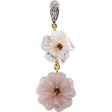 Floral-Inspired Pendant