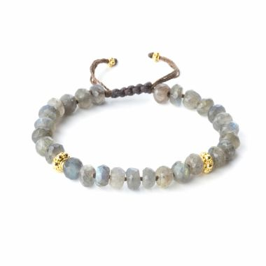 Nina Nguyen Designs Heirloom Vermeil Yellow Wrap Bracelet